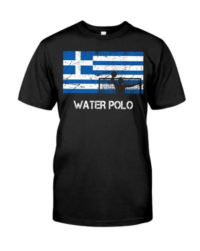 Greece Flag Water Polo