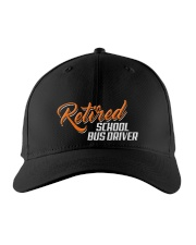 Retired School Bus Driver Embroidered Hat front