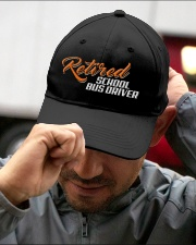 Retired School Bus Driver Embroidered Hat garment-embroidery-hat-lifestyle-01