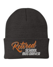 Retired School Bus Driver Knit Beanie thumbnail