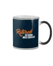 Retired School Bus Driver Color Changing Mug thumbnail