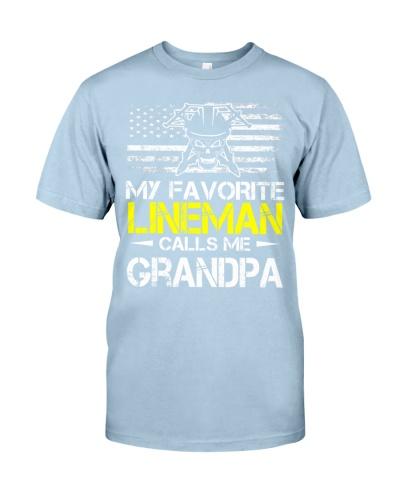 My Favorite Lineman Calls Me Grandpa
