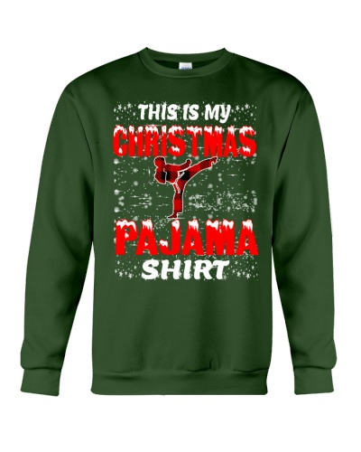 Karate Christmas Pajama