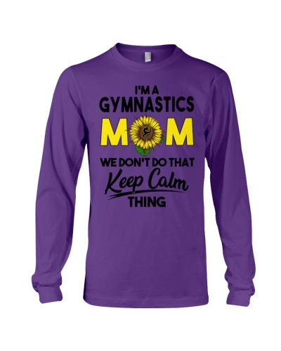 Gymnastics Mom We Don't Do That Keep Calm Thing