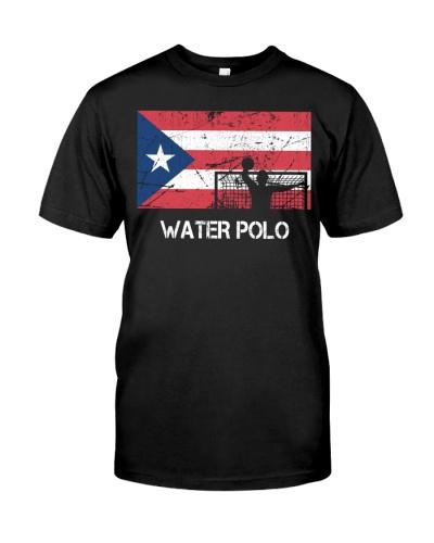 Puerto Rico Flag Water Polo
