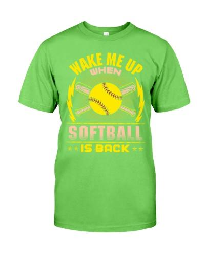 Softball Is Back