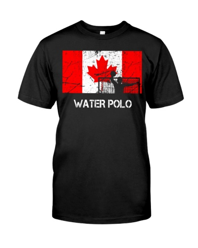 Canada Flag Water Polo