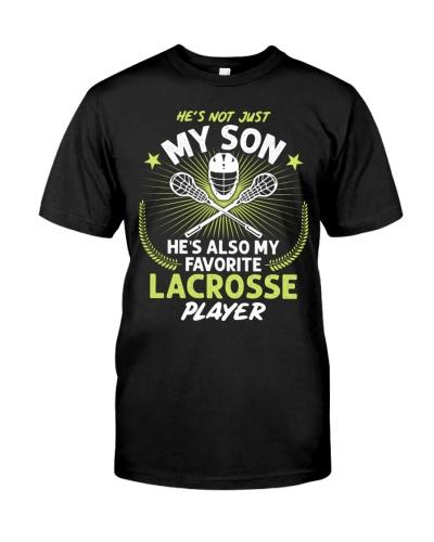 Son Lacrosse Player