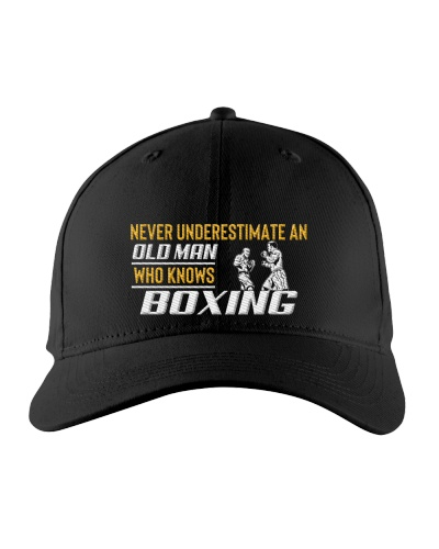 Old Man Knows Boxing