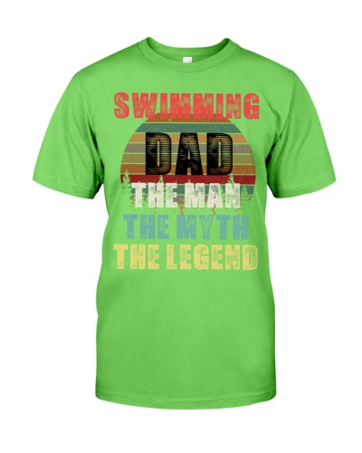 Swimming Dad The Man The Myth The Legend