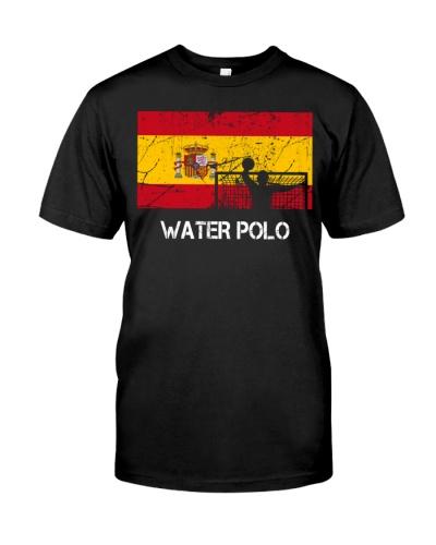 Spain Flag Water Polo