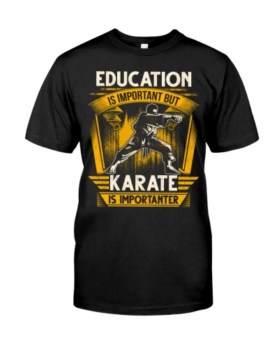 Karate Is Importanter