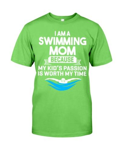 Swimming Mom Because My Kid's