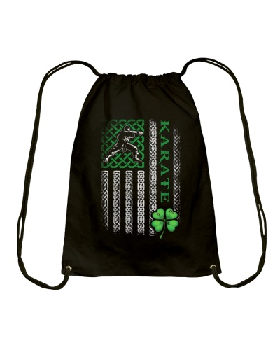 Karate Irish American Flag