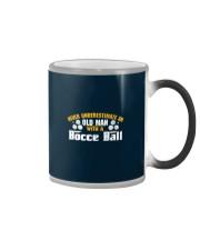 Old Man With A Bocce Ball Color Changing Mug thumbnail