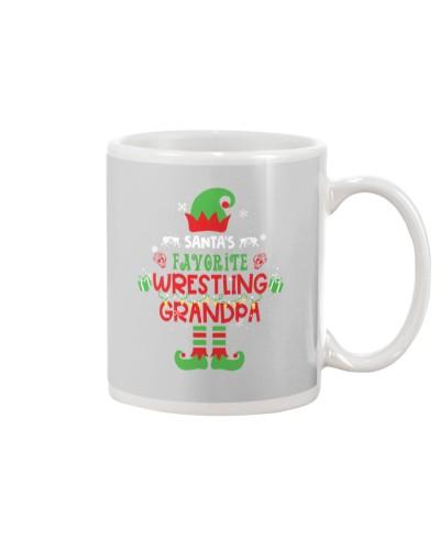 Santa's Favorite Wrestling Grandpa