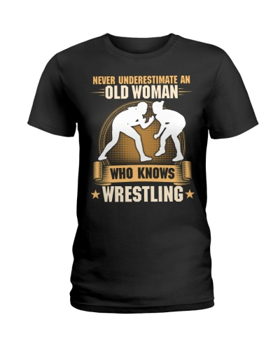 Old Woman Wrestling