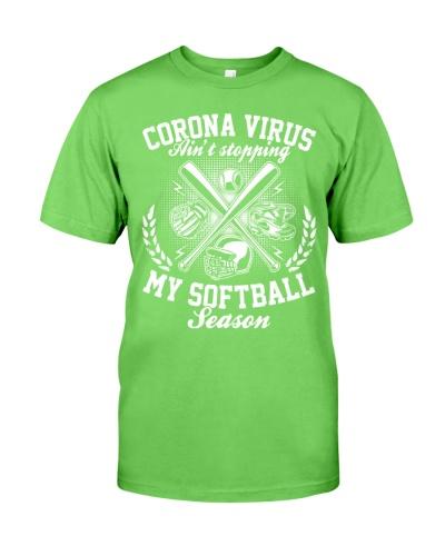 Corona Virus Aint Stopping My Softball Season