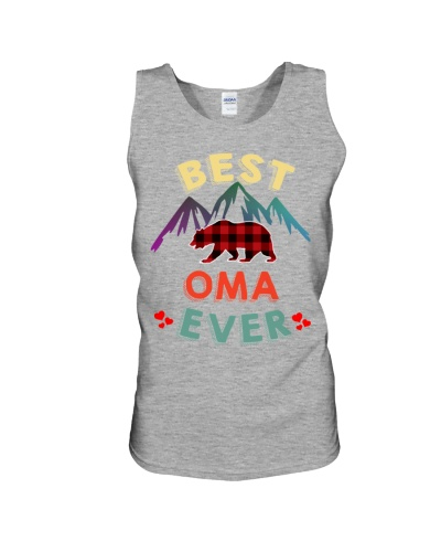 Best Oma Bear Ever Xmas Red Plaid