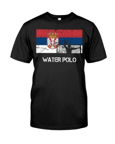 Serbia Flag Water Polo