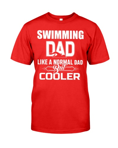 Swimming Dad Like A Normal Dad But Cooler