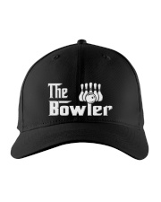 The Bowler Bowling Embroidered Hat front