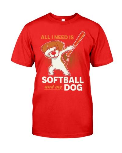 Softball And My Dog