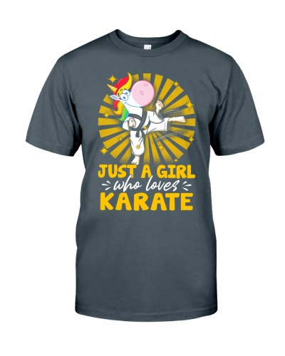 Just A Girl Who Loves Karate