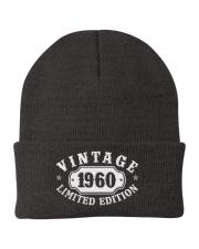 1960 Birthday Vintage Anniversary Knit Beanie thumbnail