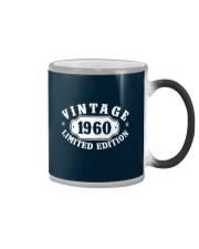 1960 Birthday Vintage Anniversary Color Changing Mug thumbnail