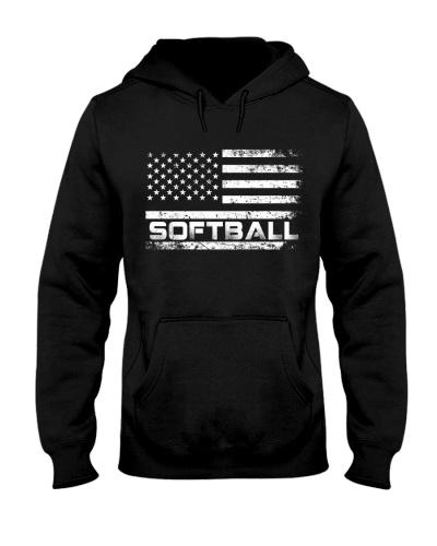 American Flag Softball