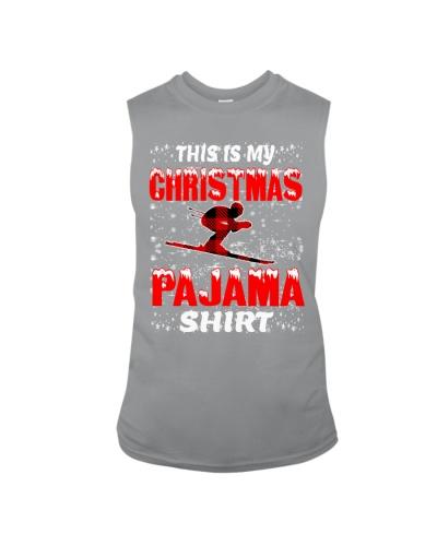 Skiing Christmas Pajama