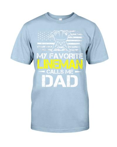 My Favorite Lineman Calls Me Dad