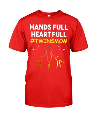 Hands Full Heart Full Twins Mom