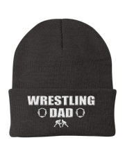 Wrestling Dad Knit Beanie front