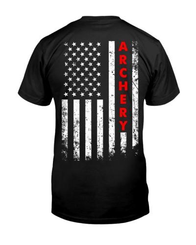 Archery American Flag Backside