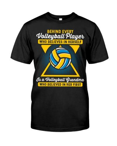 Volleyball Player Volleyball Grandma