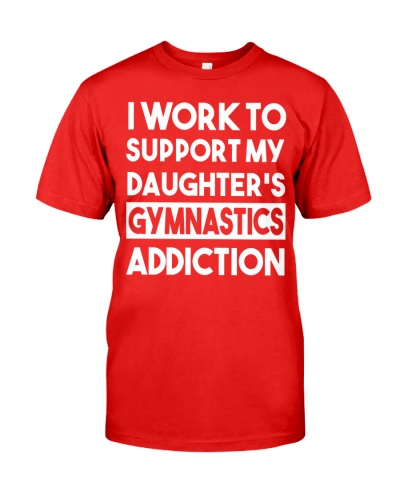 I Work To Support My Daughter's Gymnastics