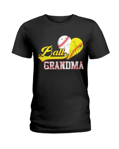 Baseball Softball Grandma