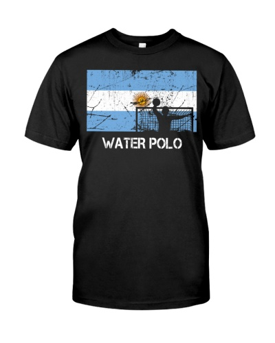 Argentina Flag Water Polo