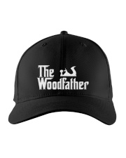 Woodworking Carpenter The Wood Father Embroidered Hat front
