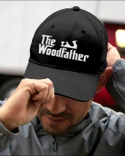 Woodworking Carpenter The Wood Father Embroidered Hat garment-embroidery-hat-lifestyle-01