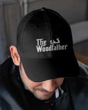 Woodworking Carpenter The Wood Father Embroidered Hat garment-embroidery-hat-lifestyle-02