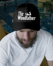 Woodworking Carpenter The Wood Father Embroidered Hat garment-embroidery-hat-lifestyle-06