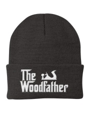 Woodworking Carpenter The Wood Father Knit Beanie thumbnail