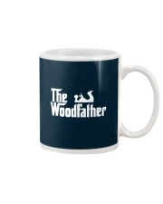 Woodworking Carpenter The Wood Father Mug thumbnail