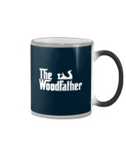 Woodworking Carpenter The Wood Father Color Changing Mug thumbnail