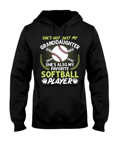 Granddaughter Softball Player