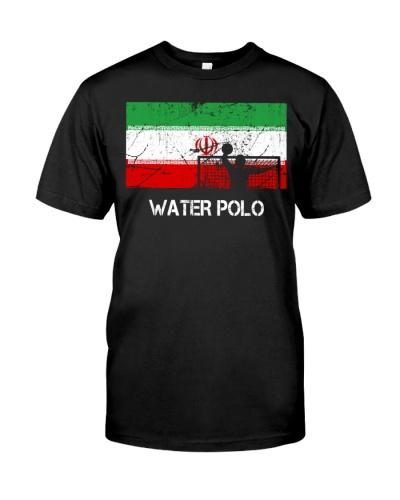 Iran Flag Water Polo