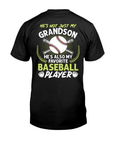 Grandson Baseball Player Backside